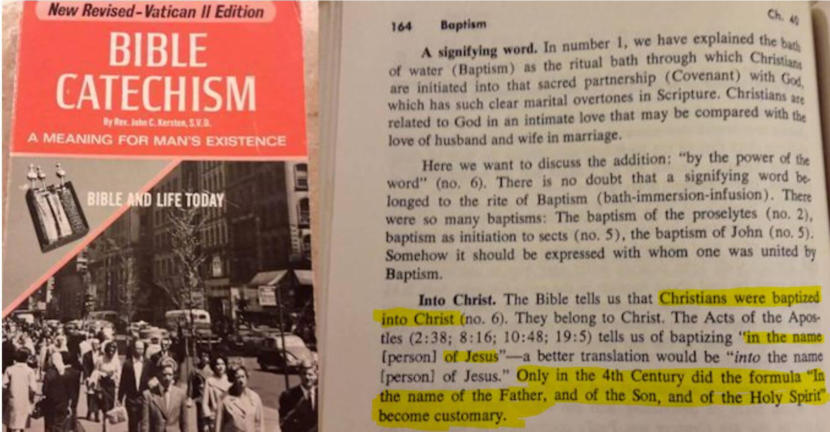 Credibility of Matthew Pt 3: Matthew 28:19