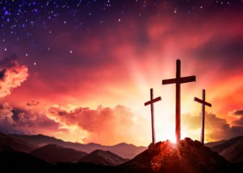 Picture of the Cross for repentance - Jesus is the Messiah and the Gospel